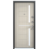 Входная дверь SUPER OMEGA 8 RP-3 Белый перламутр RS-2 (TOREX)