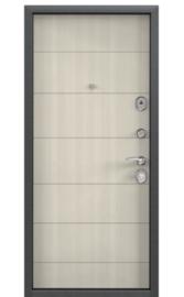 Входная дверь DELTA 100 M Перламутр белый D22 (TOREX)