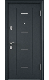Входная дверь DELTA 112 Синий букле / CT Wood Brown (TOREX)