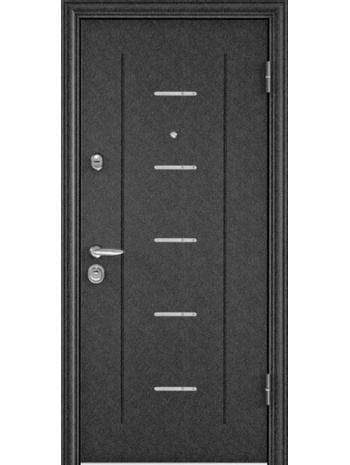 Входная дверь SUPER OMEGA 10 RP-4 Белый перламутр RS-1 (TOREX)
