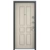 Входная дверь DELTA 100 M Черный шелк SP-7G / Перламутр белый D15 (TOREX)
