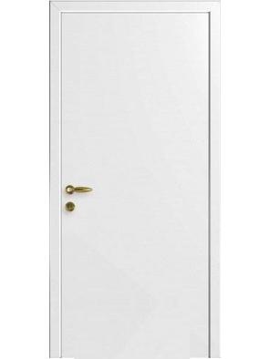 Межкомнатная дверь ДГ Гладкая Белая