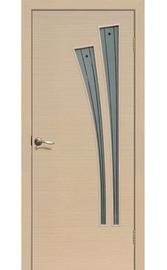 Межкомнатная дверь ДОФ Лагуна Беленый дуб