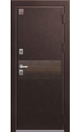 Входная дверь Т-2 Premium шоколадный муар-дуб мэлвилл (Центурион)