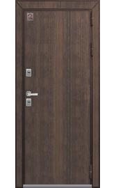 Входная дверь Т-3 Premium шоколадный муар-полярный дуб (Центурион)