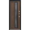Входная дверь Т-5 Premium черный муар-миндаль (Центурион)