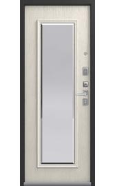 Входная дверь LUX-1 серебро антик-патина крем (Центурион)