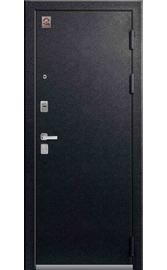 Входная дверь LUX-1 черный муар-орех премиум (Центурион)