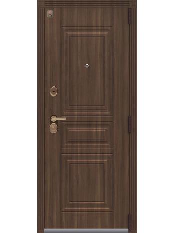 Входная дверь LUX-4 медный муар-полярный дуб (Центурион)