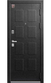 Входная дверь LUX-5 серый муар-милк софт (Центурион)