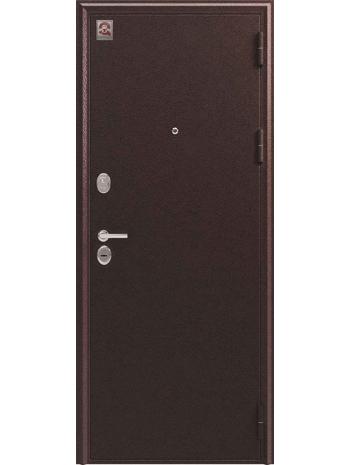 Входная дверь LUX-6 медь антик-орех (Центурион)