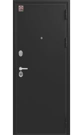 Входная дверь LUX-6 черный шелк-венге шелк (Центурион)