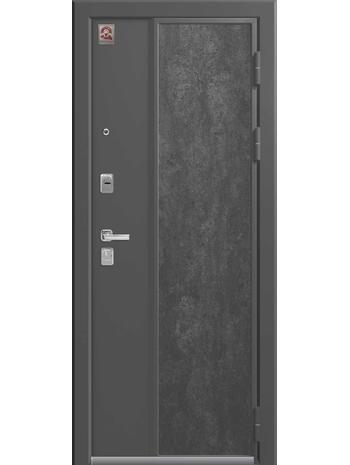 Входная дверь LUX-7 серый шелк-софт серый (Центурион)
