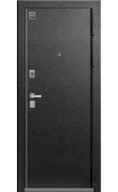 Входная дверь LUX-10 серый муар-ясень пепельный (Центурион)