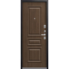 Входная дверь LUX-11 черный муар-дуб мэлвилл (Центурион)