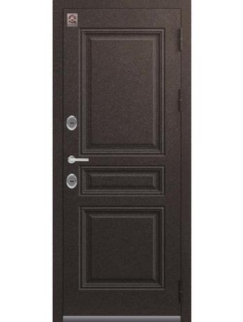 Входная дверь ТЕРМО Т-7 металл-шоколад букле (Центурион)