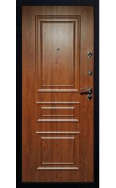 Входная дверь Византия золотой дуб 3D