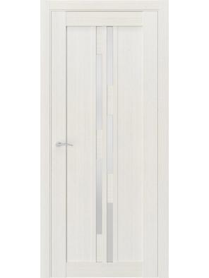 Межкомнатная дверь Q41 Лиственница белая (белый сатинат)