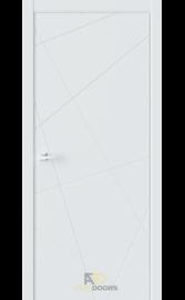Межкомнатная дверь P1 Белая матовая