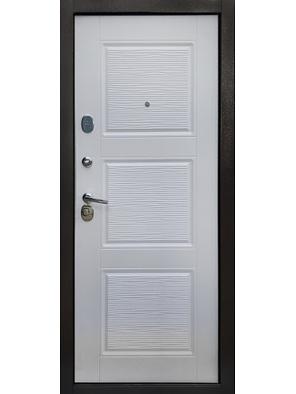 Входная дверь Авангард беленый дуб