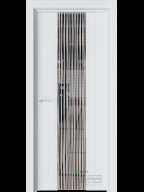 Межкомнатная дверь РЕЙН Мидл (Графитовое зеркало) (ESTET)