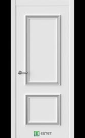 Межкомнатная дверь ERA-3 Айс (багет серебро) (ESTET)