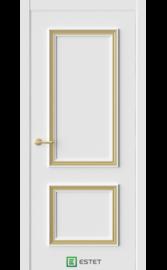 Межкомнатная дверь ERA-3 Айс (багет золото) (ESTET)