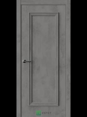 Межкомнатная дверь ERA-1 Камень темный (ESTET)