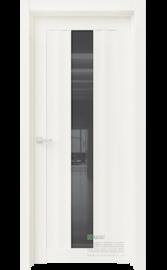 Межкомнатная дверь RR10 Белый глянец (Графит сатинат) (ESTET)