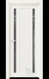 Межкомнатная дверь RR9 Белый глянец (Графит сатинат) (ESTET)