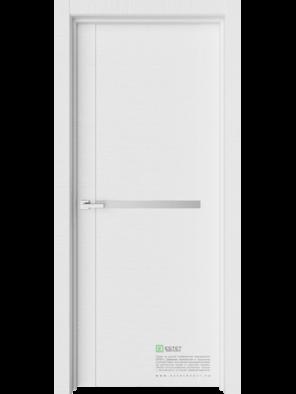 Межкомнатная дверь Т18 Белый горизонт (ESTET)