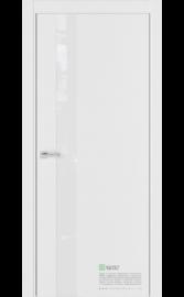 Межкомнатная дверь U2 Белый горизонт (Белый лакобель) (ESTET)