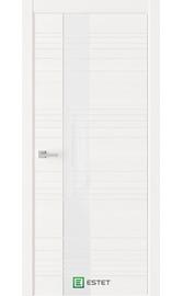 Межкомнатная дверь W1 White (Аляска) (ESTET)
