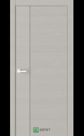 Межкомнатная дверь W5D Smoke (Белый лакобель) (ESTET)