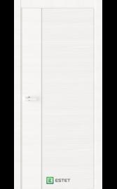 Межкомнатная дверь W5D White (Белый лакобель) (ESTET)