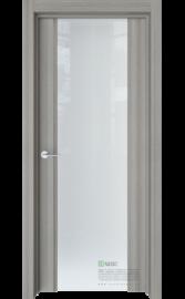 Межкомнатная дверь Стиль полное Керамик (Белый триплекс) (ESTET)