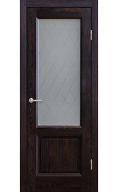 Межкомнатная дверь ПО Лира Морион (Дубрава Сибирь)