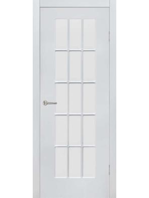 Межкомнатная дверь ПО Невада Жемчуг (Дубрава Сибирь)