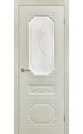 Межкомнатная дверь ПО Верона Жемчуг (Дубрава Сибирь)