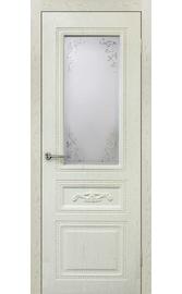 Межкомнатная дверь ПО Амелия Жемчуг (Дубрава Сибирь)