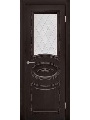 Межкомнатная дверь ПО Валенсия Морион (Дубрава Сибирь)