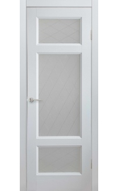 Межкомнатная дверь ПО Соната Жемчуг (Дубрава Сибирь)