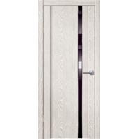 Межкомнатная дверь LINE M2 дым (зеркало черное)