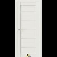 Межкомнатная дверь Q12 Лиственница белая (белый сатинат)
