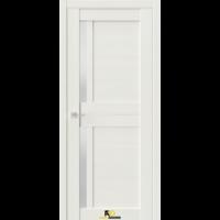 Межкомнатная дверь Q1 Лиственница белая (белый сатинат)