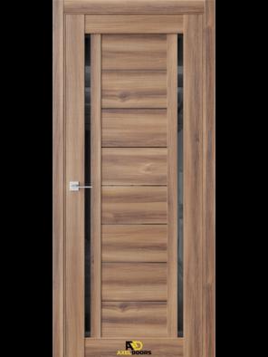 Межкомнатная дверь Q33 Онтарио (черный лакобель)