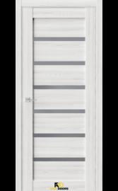 Межкомнатная дверь Q5 Клен айс (графит сатинат)