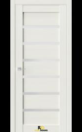 Межкомнатная дверь Q5 Лиственница белая (белый сатинат)