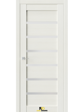 Межкомнатная дверь QZ2 Лиственница белая (зеркало)
