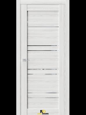 Межкомнатная дверь QZ1 Клен айс (зеркало)
